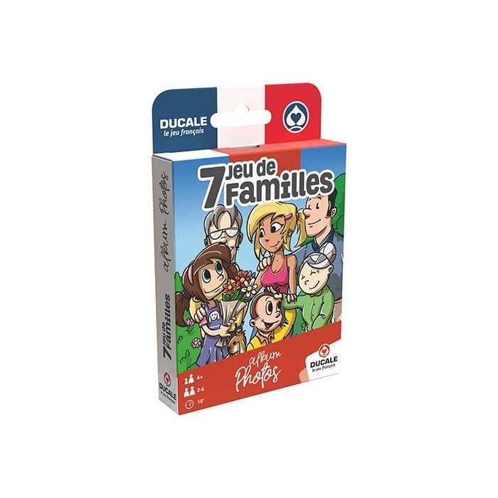 """7 Familles """"PHOTOS DE FAMILLE"""" - Ducale le jeu français"""