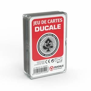 """""""54 CARTES"""" Ducale le jeu français - Boîte plastique"""