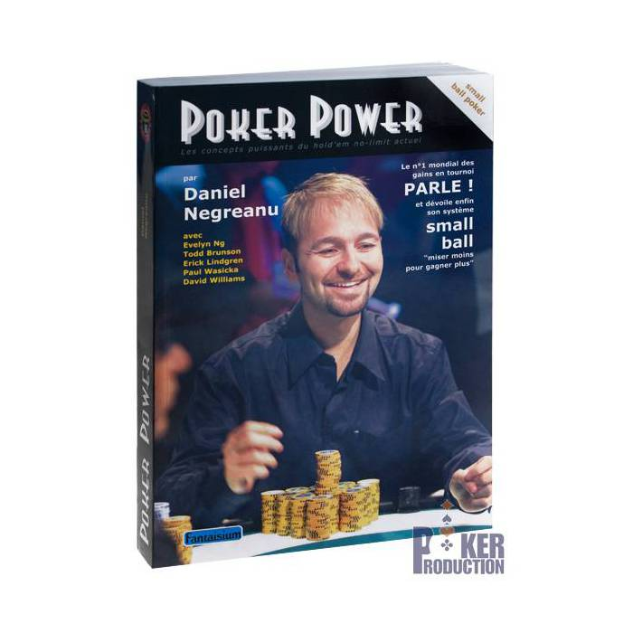 Poker Power – par Daniel Negreanu - 496 pages – Edition Fantaisium