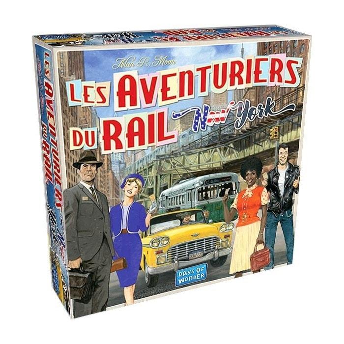 Les Aventuriers du Rail - New York