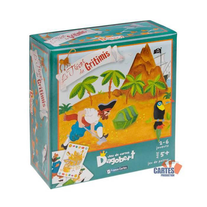 Dagobert Le trésor du Gritimis - Jeu de 42 cartes