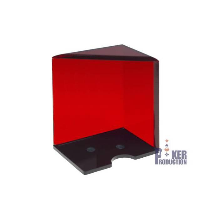 Porte cartes rouge de 6 jeux de Black Jack