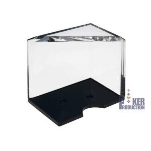Porte cartes transparent de 4 jeux de Black Jack
