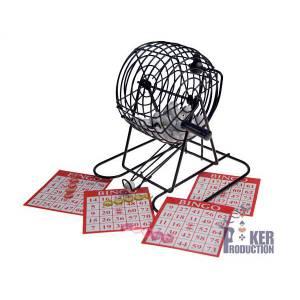 Set de Bingo – comprend une cage de 15 cm