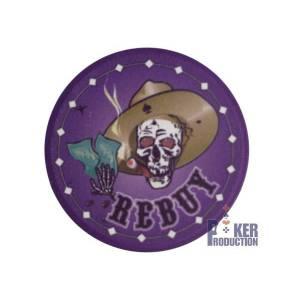 Jeton Rebuy NEVADA JACK – en céramique – 10g