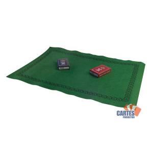 Set de Bridge - Tapis 60x40 - 2 jeux de cartes Gauloise
