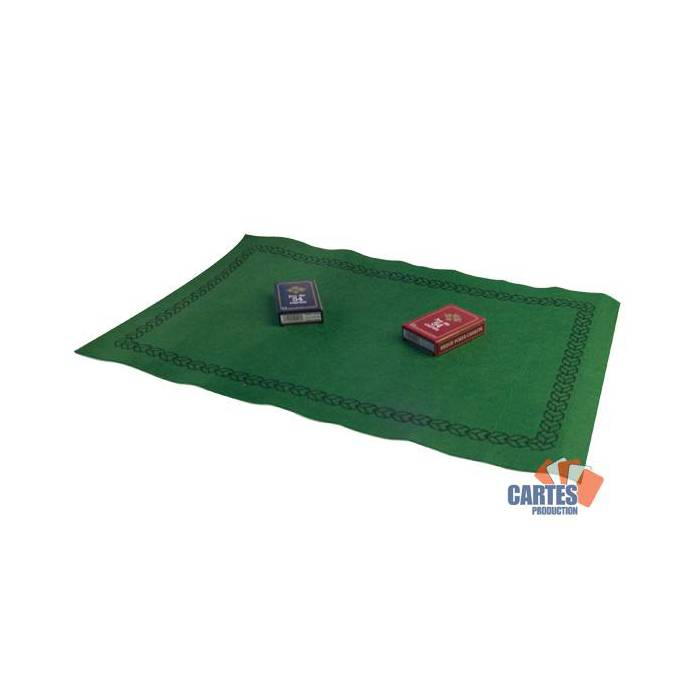 Set de Bridge - Tapis 60x40 - 2 jeux de cartes Gauloise