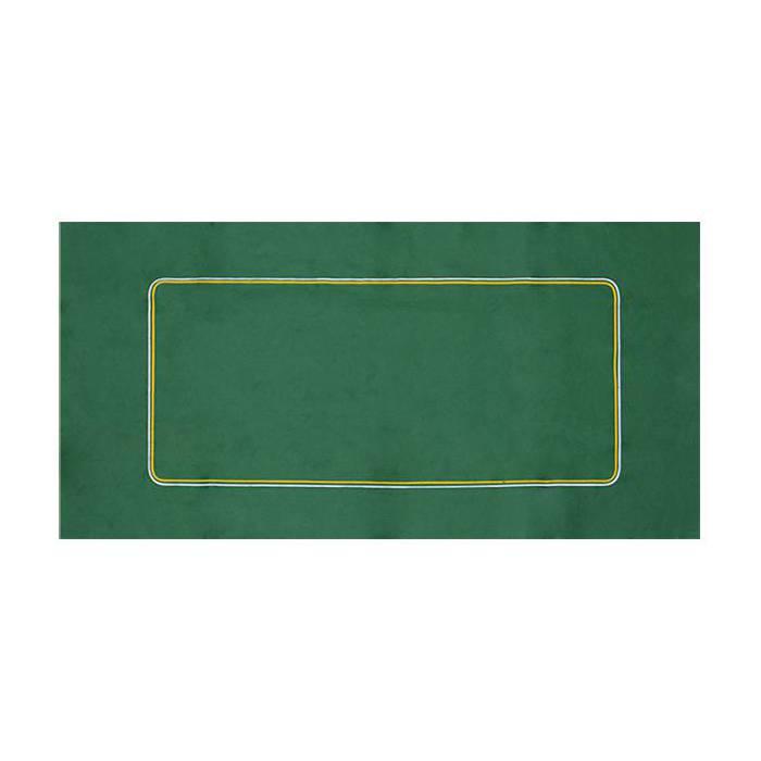 Tapis de Poker en feutrine verte – avec betline - 120/62 cm