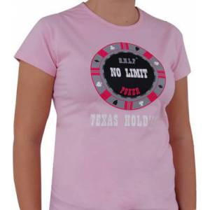 T-Shirt Rose Femme : NO LIMIT - Taille L
