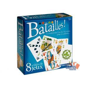 BATAILLES ! - Jeu de 54 cartes