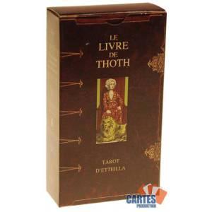 Tarot Le Livre de Thoth - Jeu de 78 cartes