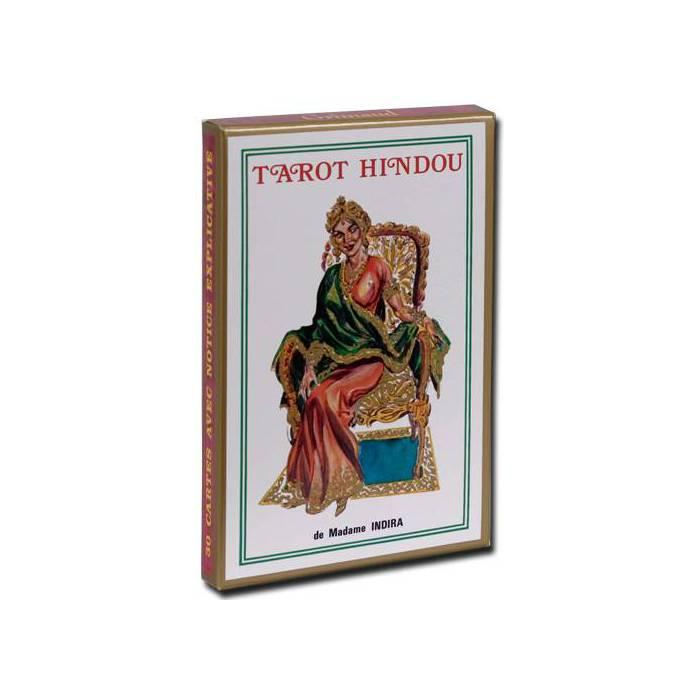 Tarot Hindou de Madame Indira - Jeu de 30 cartes