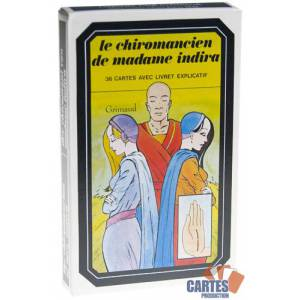 Le Chiromancien de Madame Indira - Jeu de 36 cartes