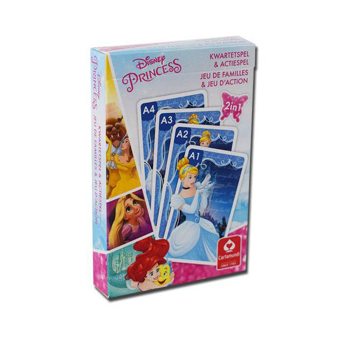 8 familles Disney Princess - Jeu de 32 cartes