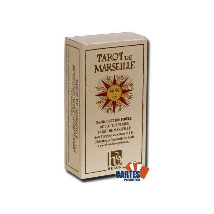 Tarot de Marseille - Jeu de 78 cartes