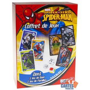 Coffret Spiderman - 3 jeux de cartes