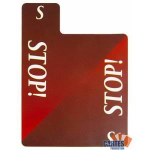 Carton de Bridge STOP