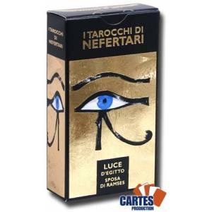 Jeu de 78 cartes : Tarot de Néfertari