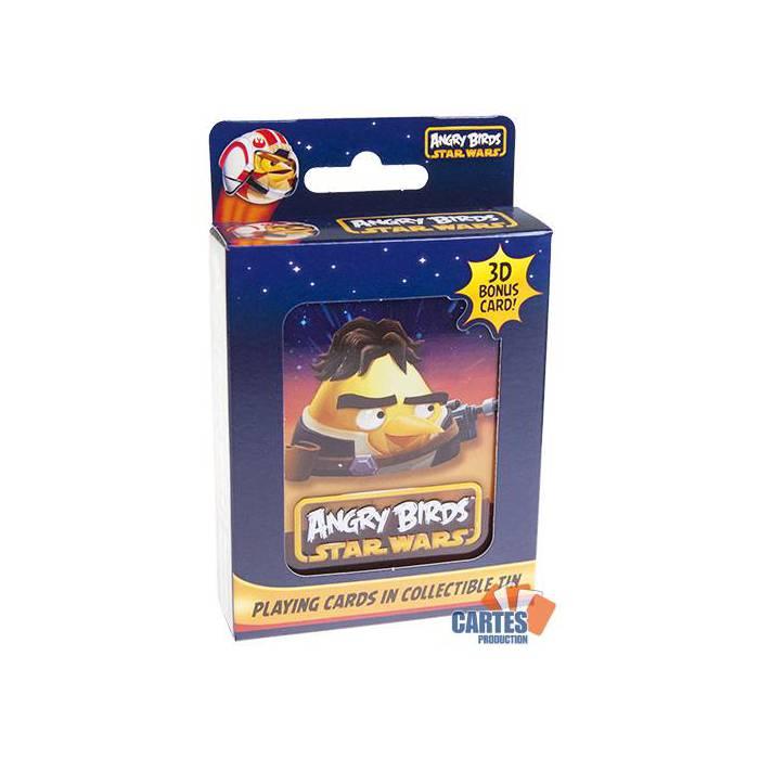Angry Birds Star Wars Han Solo - Jeu de 54 cartes