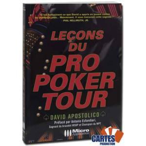Lecons Du Pro Poker Tour Par David Apostolico 174 Pages Micro Application