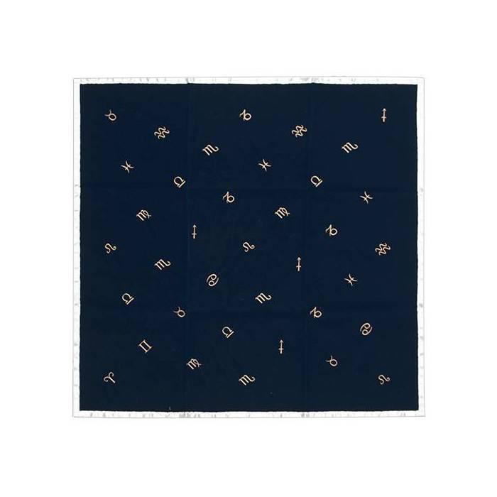 Tapis en velours Astrologie - 80x80cm