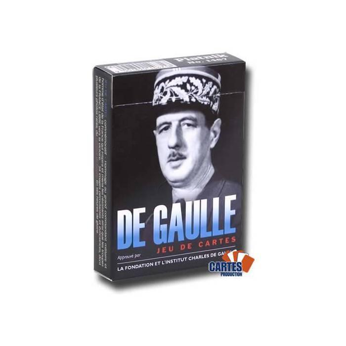 De Gaulle - Jeu de 54 cartes