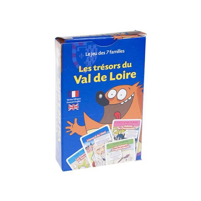 Jeu des 7 Familles: Les Trésors du Val de Loire - Jeu de 42 cartes