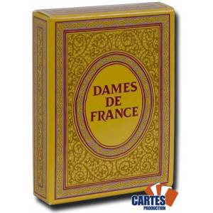 Dames de France rouge - Jeu de 52 cartes