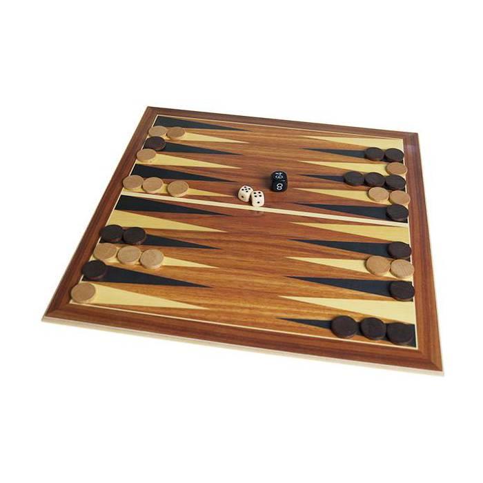 Plateau Backgammon - 32 cm