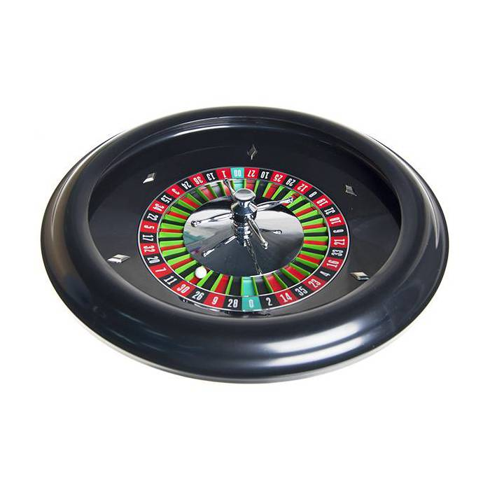 Roulette Américaine en plastique – double 00 – 43 cm de diamètre