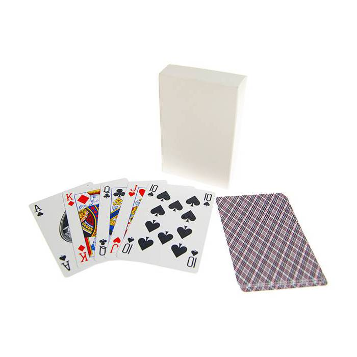Grimaud Bridge - jeu de 54 cartes 100% plastique – format bridge – 4 index standards