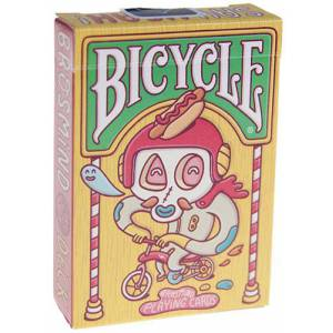 Bicycle Brosmind – Jeu de 54 cartes toilées plastifiées – format poker – 2 index standards