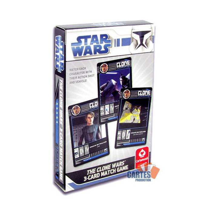 The Clone Wars - Jeu de 30 cartes