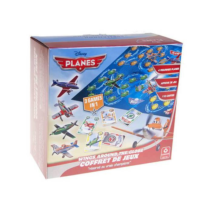 Coffret Planes - Jeu de 110 cartes