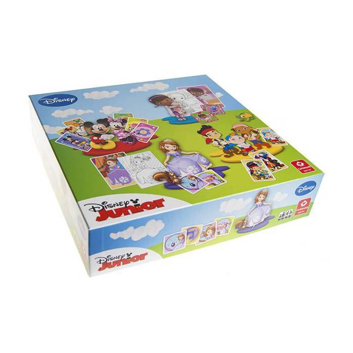 Coffret de Jeux Cadeau Disney - 5 jeux de cartes