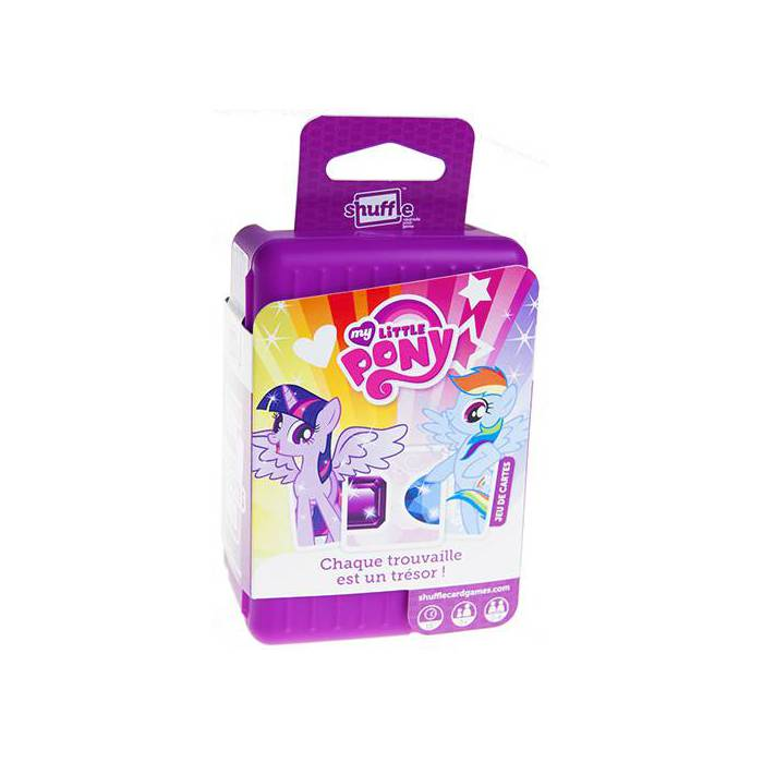 Shuffle My Little Pony - Jeu de 55 cartes