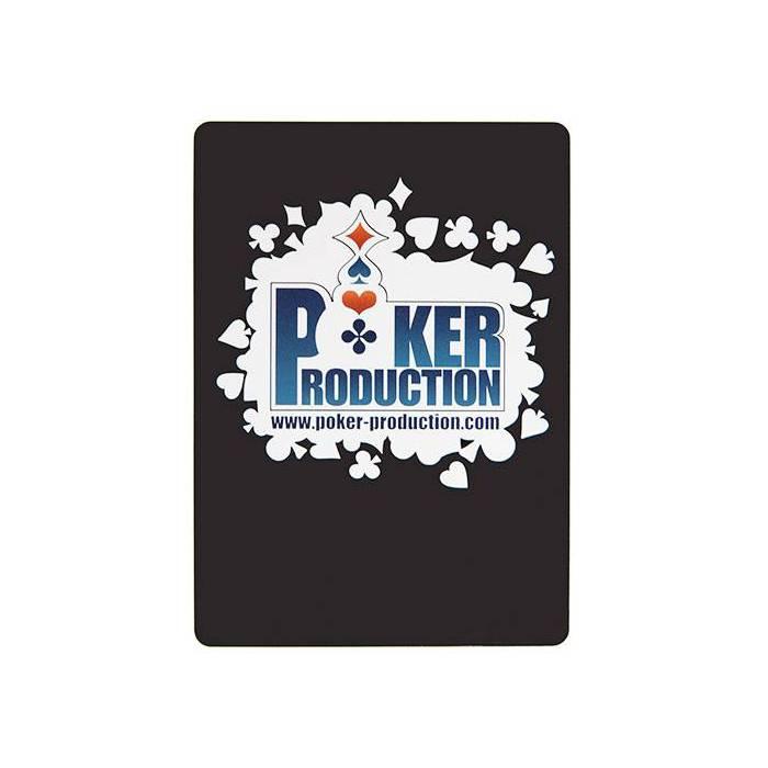 Carte de coupe POKER PRODUCTION TACHES – format poker – 100%plastique