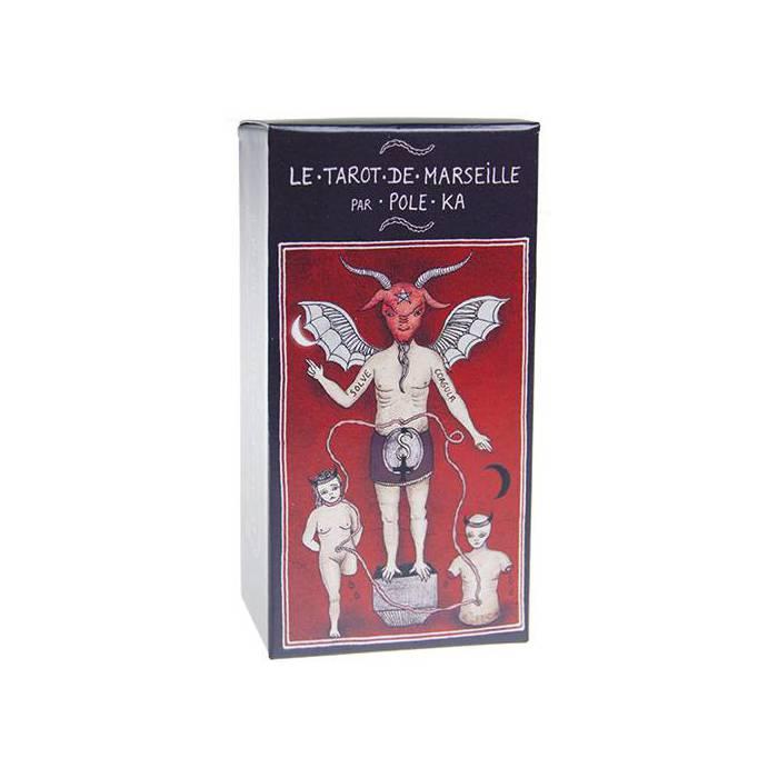 Le Tarot de Marseille par Pole Ka - Jeu de 78 cartes