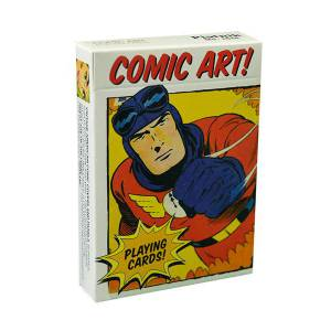 Comic Art ! - Jeu de 54 cartes