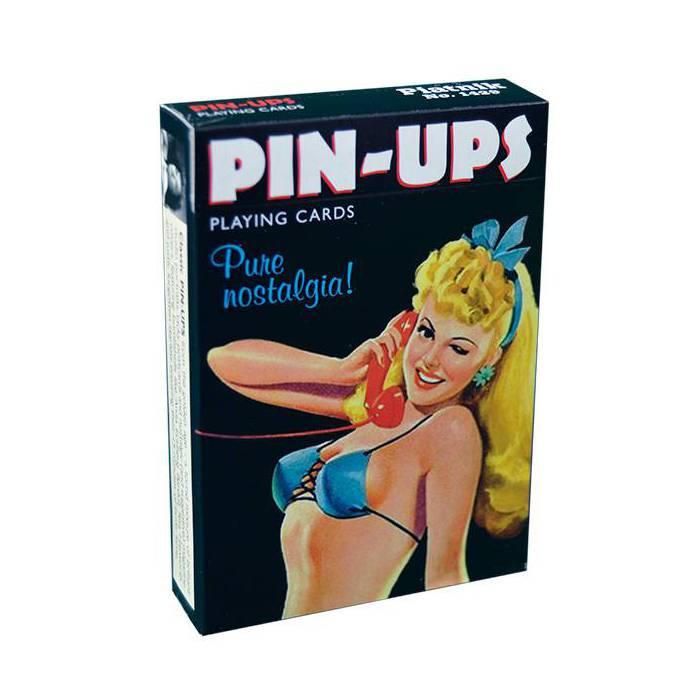 Pin-Ups - Jeu de 54 cartes