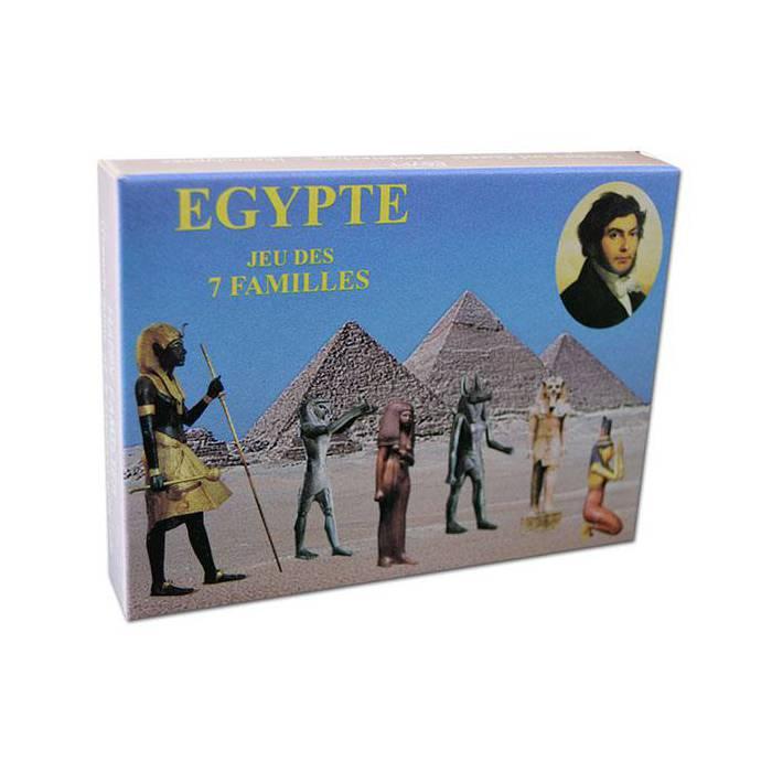 Jeu des 7 Familles Egypte – Jeu de 42 cartes