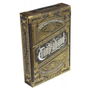 "Theory11 ""CONTRABAND"" – jeu de 55 cartes toilées plastifiées – format poker – 2 index standards"