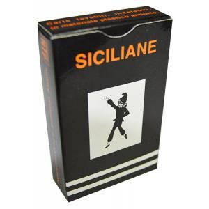 Dal Negro Siciliane 100% PVC – Jeu de 40 cartes 100% plastique