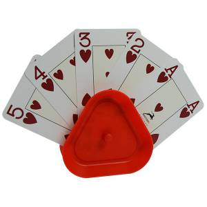 Porte-Cartes DUCALE Rouge – jusqu'à 30 cartes