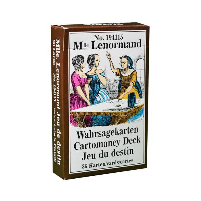 Melle Lenormand – Piatnik - Jeu de 36 cartes