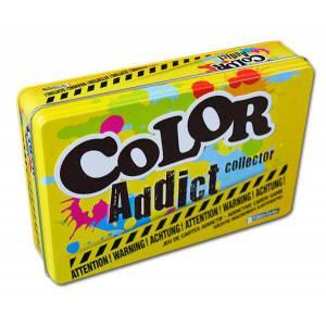 Color Addict Boite Métal - Jeu de 110 cartes