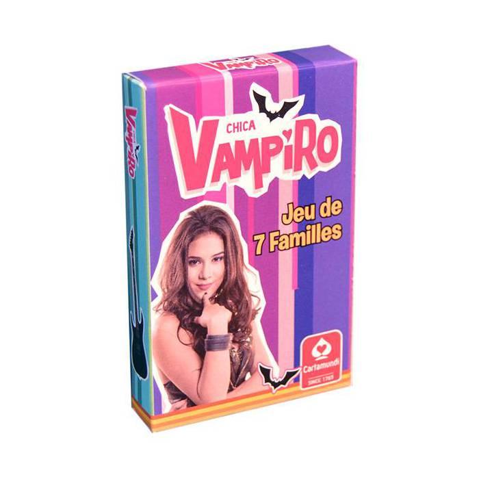 Jeu des 7 familles Chica Vampiro - jeu 42 cartes