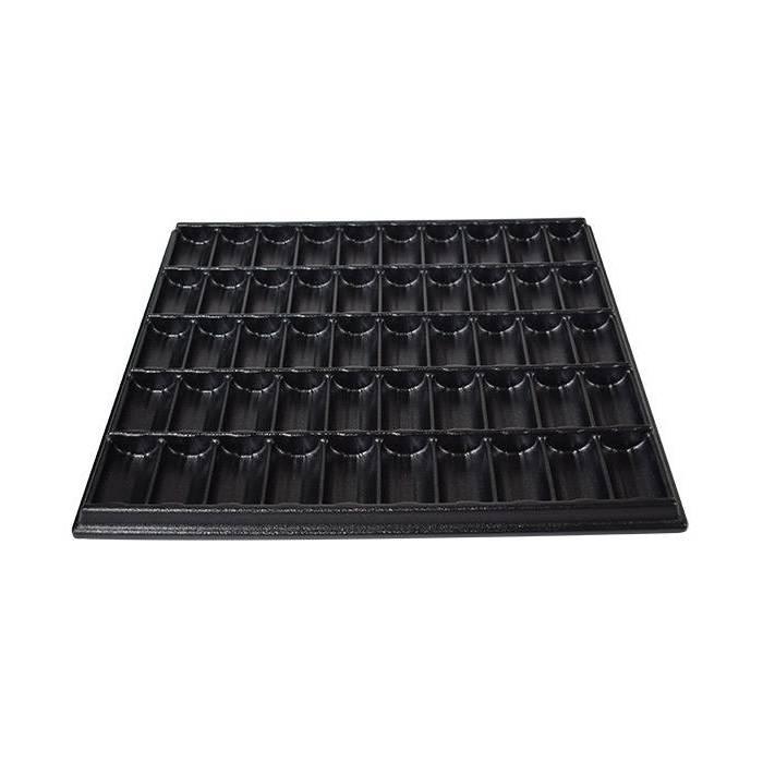 Rack de rangement pour 1000 jetons de roulette  – 50 colonne de 20 jetons