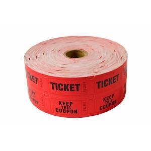 Rouleaux de Tickets de Tombola - par 5 - 5000 tickets