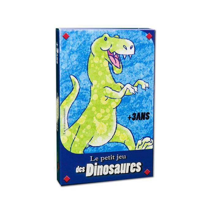 Le Petit Jeu des Dinosaures - Jeu de 32 cartes